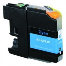 SecondLife compatible inktcartridge Brother LC-223C cyaan