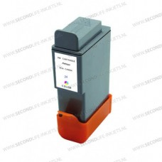 SecondLife compatible inktcartridge Canon BCi-21C & BCi-24C kleur