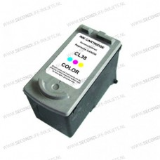 SecondLife compatible inktcartridge Canon CL-38 kleur
