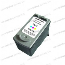 SecondLife compatible inktcartridge Canon CL-51 kleur