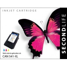SecondLife compatible inktcartridge Canon CL-541XL kleur