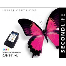 SecondLife compatible inktcartridge Canon CL-541XL kleur