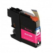 SecondLife compatible inktcartridge Brother LC-125XLM magenta