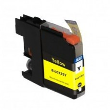 SecondLife compatible inktcartridge Brother LC-125XLY geel