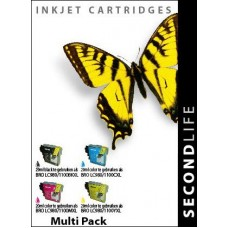 SecondLife compatible inktcartridge multipack Brother LC-980