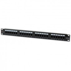 19 inch 24 poort Cat.6 patchpanel