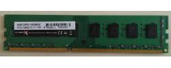TurboX geheugenmodule DDR3 4 GB 1600MHz