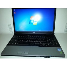 2e hands laptop Fujitsu Lifebook E752, 15.6 inch Core i3 4 GB 128 GB SSD Windows 7