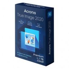 Acronis True Image 2020 Premium voor 1 PC of Mac voor 1 jaar